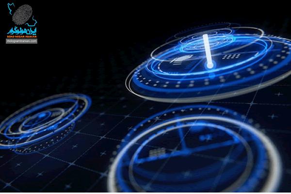 طراحی هولوگرام سه بعدی